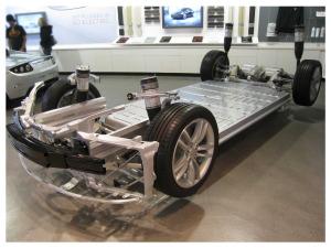 Tesla révèle son système de changement de batterie robotisé