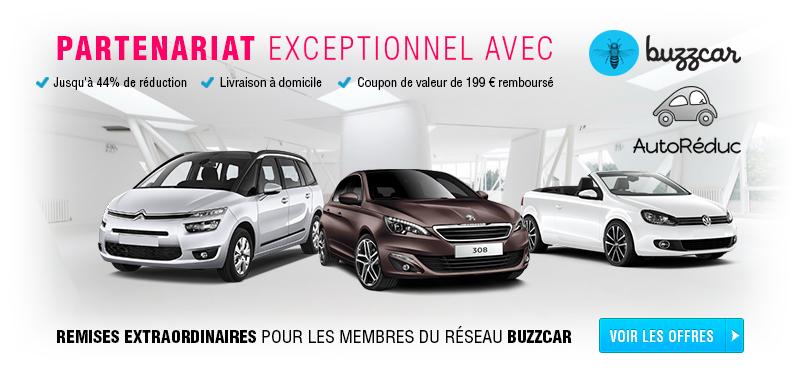 Buzzcar et AutoRéduc s'associent pour faire baisser le prix de la mobilité.