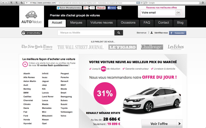 Un français sur deux serait prêt à acheter sa nouvelle voiture en ligne !