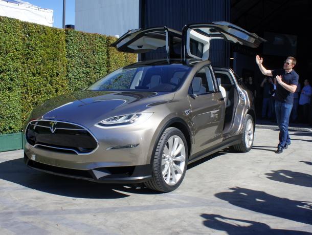 Le Model X sera exactement comme annoncé par Elon Musk il y a 2 ans