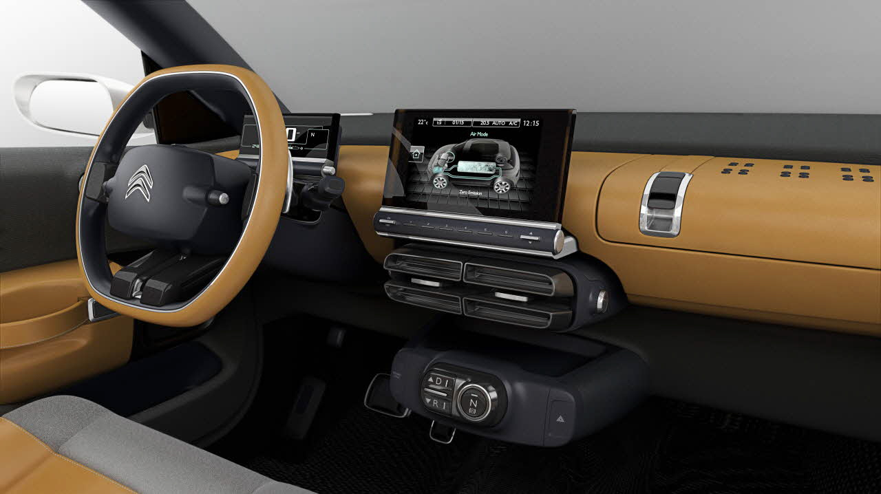 Nouvelle Citroën C4 Cactus 2014 l'originalité et l'innovation par PSA