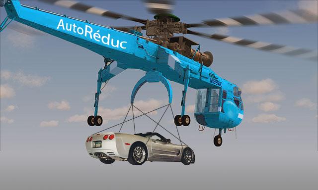 Suivant l'exemple de Google et Amazon, verrons-nous un jour notre nouvelle voiture livrée par un drone géant ? :)