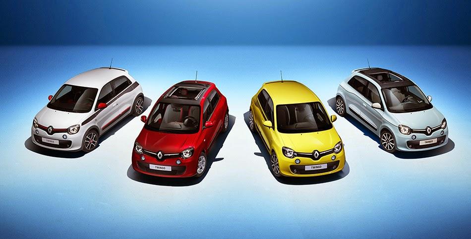 La Renault Twingo 2014 plus petite que la Mini
