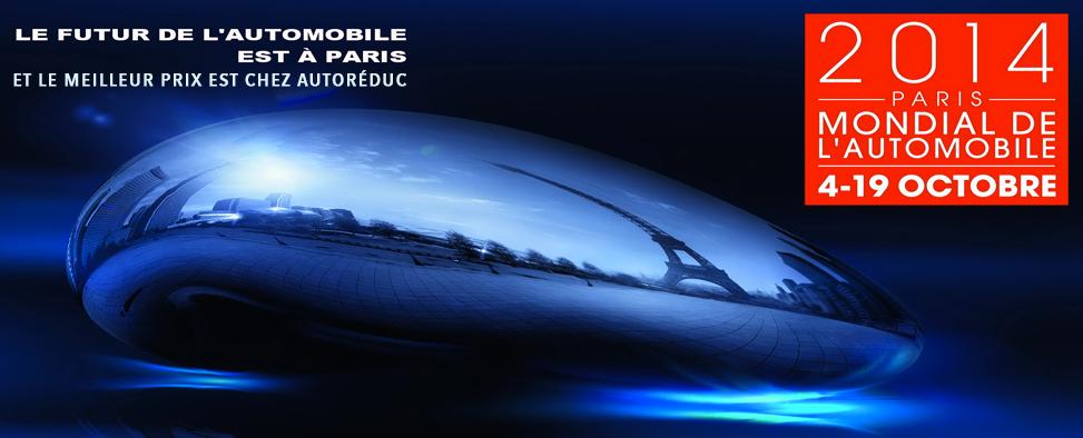AutoRéduc vous amène le Mondial de l'Auto dans votre salon