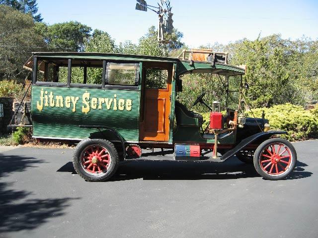 Ici un exemplaire de la Ford Model T