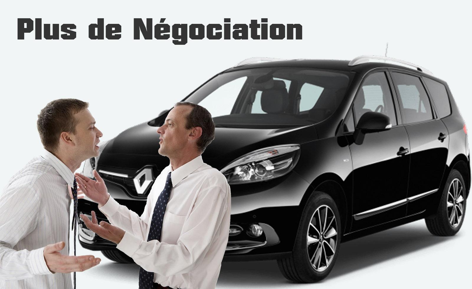 la négociation des prix des voitures trouble les clients