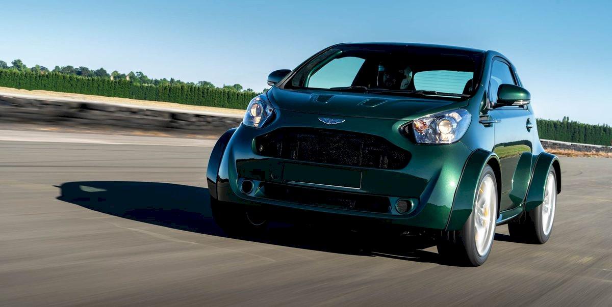 Assurance auto pas chère pour la Aston Martin Cygnet