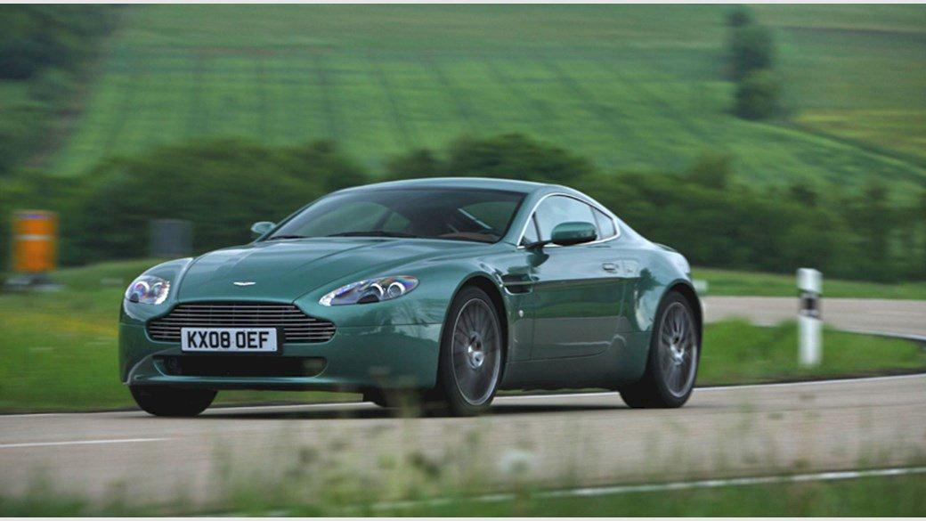 Assurance auto pas chère pour la Aston Martin V8 Vantage Coupé