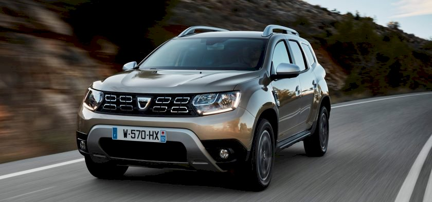 Dacia DUSTER TCE 125 4X2 BLACK TOUCH 2017