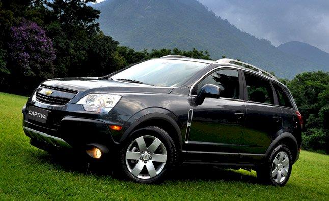 Assurance auto pas chère pour la Chevrolet Captiva