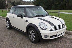Assurance auto pas chère pour la Mini Mini R56