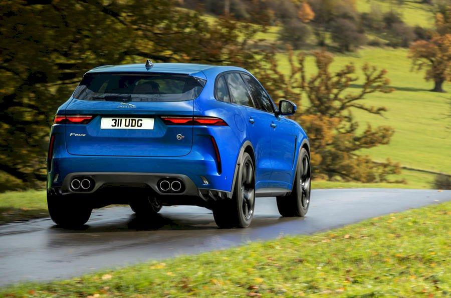 Assurance auto pas chère pour la Jaguar F-PACE