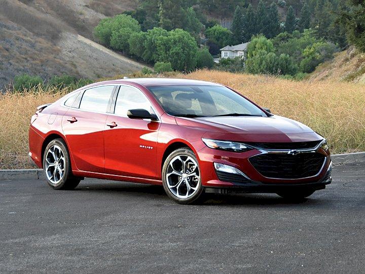 Assurance auto pas chère pour la Chevrolet Malibu