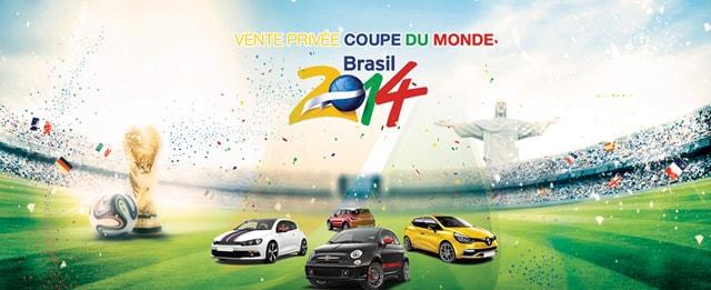 Vente privée Coupe du Monde 2014